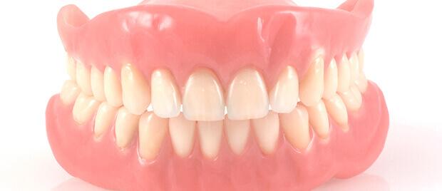 set of dentures